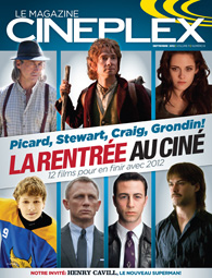 Le magazine Cineplex septembre 2012