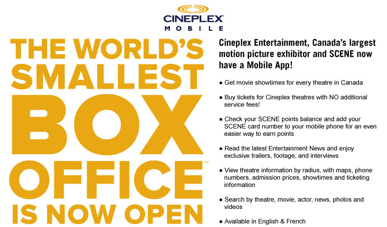 The Worlds smallest box office is now open