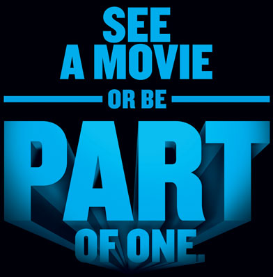 See a movie or be part of one.